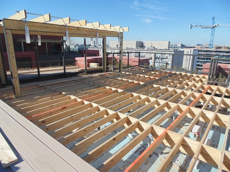 Structural Roof Deck Framing Pic1   Magna DC
