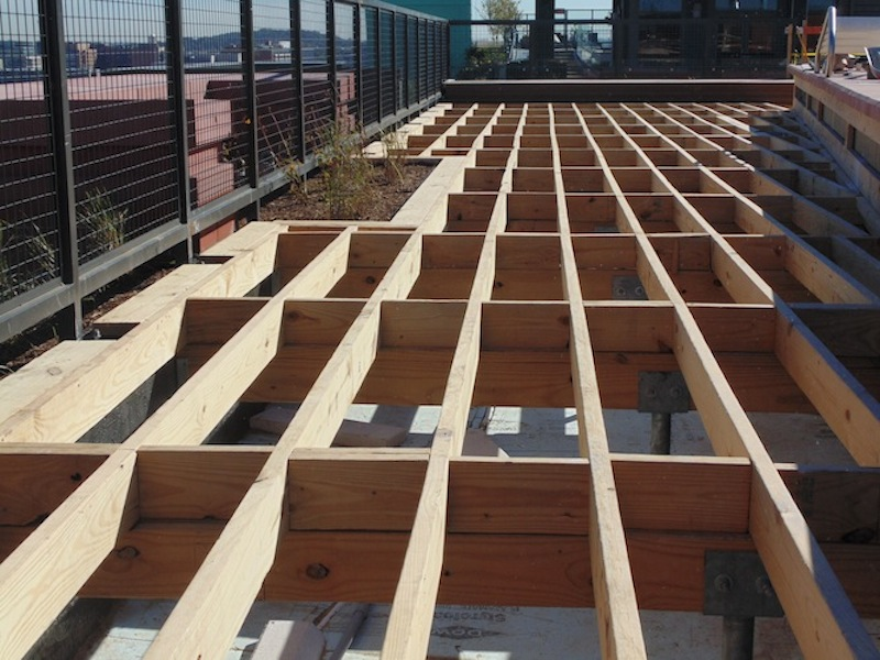 Structural Roof Deck Framing Pic2   Magna DC